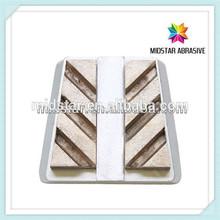Marble metal bond abrasive for stone grinding