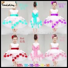 Kids Wedding Gowns Hot Sale Including Flower Girl Dresses White Child Costume