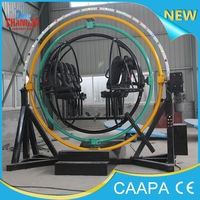 2014 changda new upgarde amusement park ride human gyroscope for sale