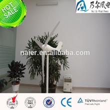 Micro bajo rpm generador de turbina de viento para lámparas