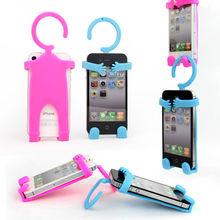 Human shape silicone phone holder