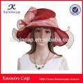 vestido de casamento oem chapéu para as mulheres