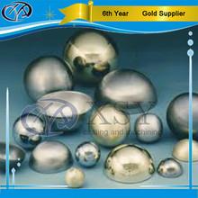 brass copper aluminum half metal ball