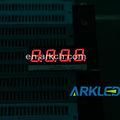 La muestra libre, alta calidad de dicha cantidad, ARK 0.40 pulgadas cuatro dígitos exhibición numérica de Color rojo