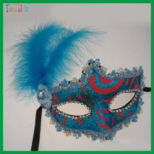 China wholesale masquerade masks with stick fot adult