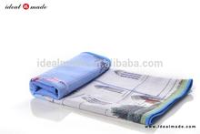 Factory online micro fibre custom making brands yoga towel printed