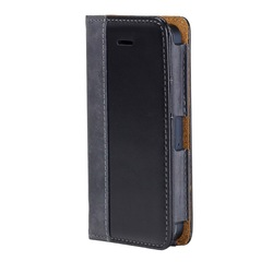 2015 hot!! folio genuine leather wallet case for iphone 6