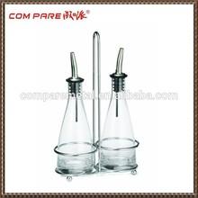 Tabletop Oil and Vinegar Cruet Glass Bottle Bottles Cruets Dispenser