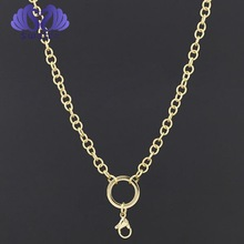 Gold Emboss Necklaces Chain wholesale stainless steel Flower Chain all occasion Present For Love