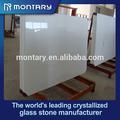 branco nano painel de vidro cristalizado