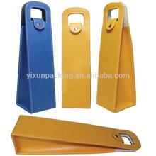 Pu Leather Wine Bag/Wine Carrier