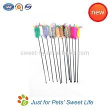 2015 Wholesale Cat Product Da Bird Feather Cat Toy