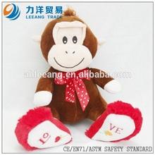 Plush monkey for kids, Customised toys,CE/ASTM safety stardard