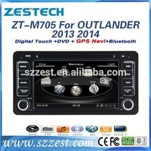 ZESTECH Auto parts 7'' 2 din Car radio gps for Mitsubishi OUTLANDER with GPS/Bluetooth/Radio AM FM/Steering wheel control