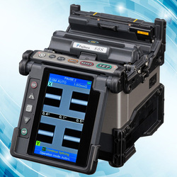 Fujikura 60s, 80s fiber optic splicing machine and accessories Battery, adaptor, charge cord, electrodes, cleaver