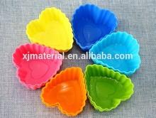 Heart shape cake silicone baking molds