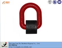 G80 Galvanized Welded D Ring