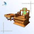 Vender diretamente eco- amigável dom esculpidos em madeira decoração caixa de fumaça