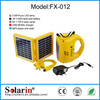 Small home portable solar led desk lamp with charger