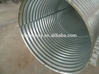 Large Diameter Corrugated Galvanized Steel Culvert Pipe/Galvanized Culvert Pipe/Metal Culvert Pipe
