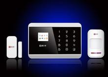 Wireless smart security CID network home GSM alarm system support GSM/PSTN(KR-8218G)
