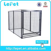 2015 hot selling welded tube fence training dog cage