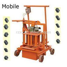 Popular latest block brick machine in myanmar