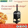 2015 manufactur atacado p002a cozinha ao ar livre de madeira pizza forno a lenha açoinoxidável forno de pizza de pedra do forno de cozinha
