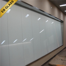 self adhesive smart glass film , Opaque treatment pdlc material magic film EB GLASS BRAND