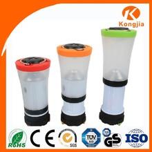 Dual-Functions 3 Modes Flashlight LED Camp Lantern 5w Hand Crank Dynamo