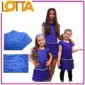 atacado alta qualidade stocklot crianças vestuário venda quente da menina de partido desgaste ocidental vestido