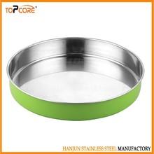 New design round tray/steel round tray/stainless round tray