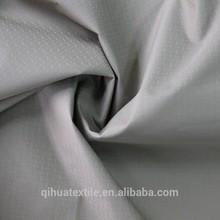 100% FD cross plaid nylon taslon fabric/waterproof /breathable milky coated(3000/3000)