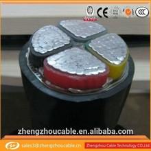 XLPE insulated PVC sheath,heat conductors and insulators,tuv 2pfg single core cable
