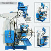 Taiwan high speed milling head rotary table miller machine X6332WA