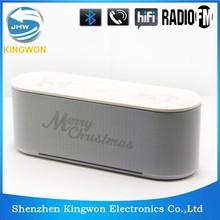 Kingwon mini bluetooth mylar speaker can rival 21 inch subwoofer speaker