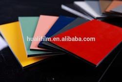 transparent color film self adhesive