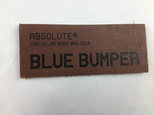 high quality garment leather labels for clothing
