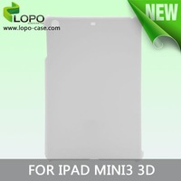 New Arrival 3D sublimation cover for ipad mini 3