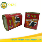 340g canned corned beef in tins