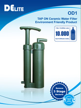 Provide direct Drinking water outdoor, let you enjoy the hiking travel, the superior outdoor water filter bottle