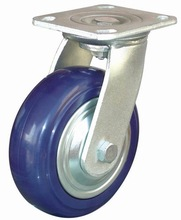 Heavy duty swivel industrial nylon material ball casters wheels