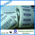 Auto- adhesivo de la etiqueta rollo jumpo/deimpresión de código de barras etiquetas
