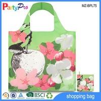 Hot Sale Promotional Apple And Flower Design Polyester Bag Fabric Polyester Bag Fabric
