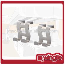 stainless steel hook & rails, Over The Cabinet&Door Hook,mini metal hook