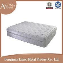 Compressed bonnell spring hotel bed mattress,luxury mattress fabric in mattress