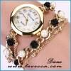 new product watch fashion love rhinestone leather watches ladies beautiful leather belt women vogue watch
