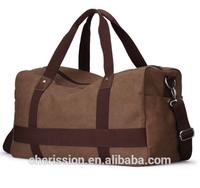 Durable canvas luggage bag,travel bag,polo classic travel bag