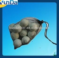 china factory supply mini black golf mesh bag