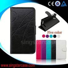 for HTC Desire 320 case, leather folio cover case for HTC Desire 320